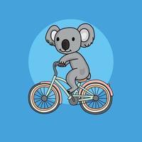 desenho animado de coala vetor
