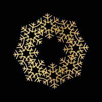 desenho vetorial de mandala de ouro de luxo vetor