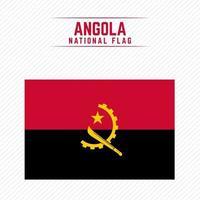 bandeira nacional de angola vetor