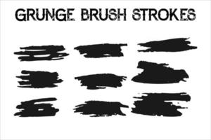 conjunto de divisores de grunge. vetor