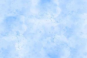 vetor de tinta aquarela pincel azul cartão listrado estilizado