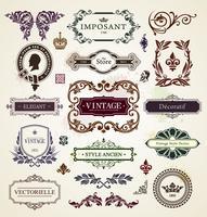 Elementos de design vintage