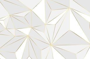 fundo de layout geométrico abstrato com elemento branco e dourado fundo moderno abstrato vetor