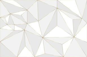 fundo de layout geométrico abstrato com fundo moderno abstrato de elemento branco e ouro. desenho geométrico elegante com vetor de linha dourada