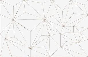 fundo de layout geométrico abstrato com elemento branco e ouro desenho geométrico elegante com vetor de linha dourada