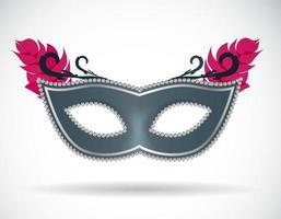 ilustração em vetor ícone máscara de carnaval de máscaras