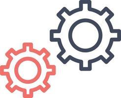 ícone do vetor de configuração