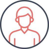 ícone de perfil de usuário vetor