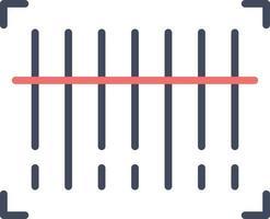 ícone de leitura de código de barras vetor