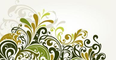 fundo de batik floral luxuoso. ilustração de cachos de decoração floral. mão desenhada elementos padrão paisley. ornamento vintage, padrão. vetor