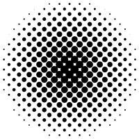Meio-tom vetorial detalhada para planos de fundo e desenhos vetor