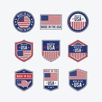 produtos de qualidade dos estados unidos da américa vetor