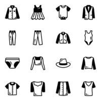 roupas e trajes vetor