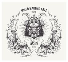 Impressão das artes marciais