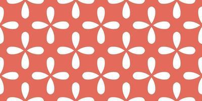 ilustração em vetor padrão floral abstrato