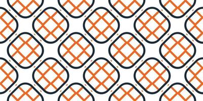 ilustração vetorial de fundo quadrado geométrico de padrão vetor