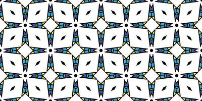 padrão abstrato geométrico. fundo. ilustração em vetor gráfico moderno padrão