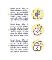 ícones de linha de conceito de reclamação de captação de recursos com texto. modelo de vetor de página ppt com espaço de cópia. folheto, revista, elemento de design de boletim informativo. fundos compartilhando ilustrações lineares em branco