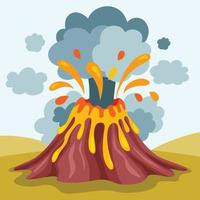 catástrofe e crise de desastres naturais vetor