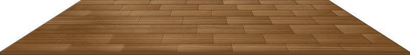 ladrilhos de madeira isolados no fundo branco vetor