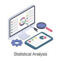 relatório de análise estatística vetor