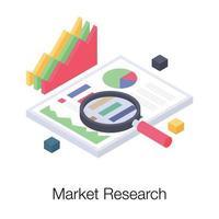 conceitos de pesquisa de mercado vetor