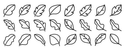 deixa o conjunto de vetores de ícone de mão desenhada.