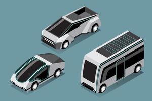 definir maquete de carro hitech em design moderno vetor