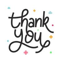 beautifull handlettering vetor de agradecimento, frase de agradecimento lettering arte vintage monoline