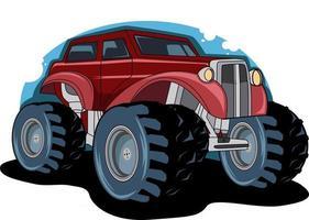 vetor de ilustração de carro clássico