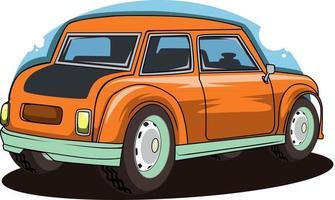 vetor de ilustração de carro clássico americano