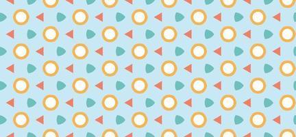 ilustração em vetor fundo padrão geométrico