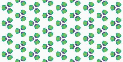 ilustração em vetor fundo gradiente verde padrão geométrico abstrato