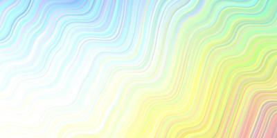 modelo de vetor multicolor de luz com linhas dobradas.