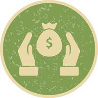 Ícone de vetor de poupança