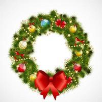 fundo abstrato da beleza do Natal e do ano novo. ilustração vetorial vetor