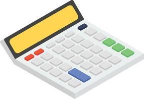 conceitos de calculadora de tendências vetor