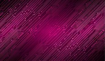 fundo do conceito de tecnologia futura do circuito printcyber vetor