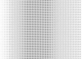 pontos pretos do vetor no padrão de linhas horizontais, pontos escuros no fundo branco, fundo dos pontos da onda, aplicativo para computador e smartphone e interface do usuário do site