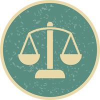 Ícone de vetor de equilíbrio