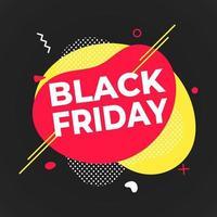 cartaz de sexta-feira negra ou ilustração em vetor modelo de design de banner.
