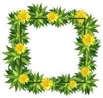 Um quadro bela daisy vetor
