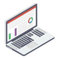 conceitos de análise da web vetor