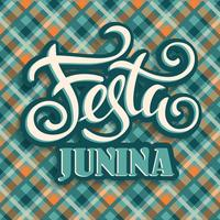 Feriado da América Latina, a festa junina do Brasil. vetor