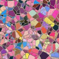 mosaico abstrato textura de pedra quebrada vetor