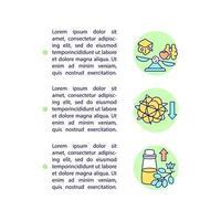 escolhendo ícones de linha de conceito de gorduras com texto. modelo de vetor de página ppt com espaço de cópia. folheto, revista, elemento de design de boletim informativo. Ilustrações lineares de dieta saudável para diabetes em branco