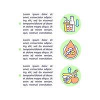 reduzindo ícones de linha de conceito de dicas de açúcar com texto. modelo de vetor de página ppt com espaço de cópia. folheto, revista, elemento de design de boletim informativo. ilustrações lineares de dieta para diabetes em branco