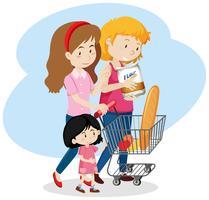 Família LGBT vai ao Shopping
