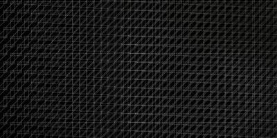 fundo cinza escuro do vetor com linhas.