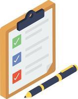 conceitos de lista de pedidos vetor